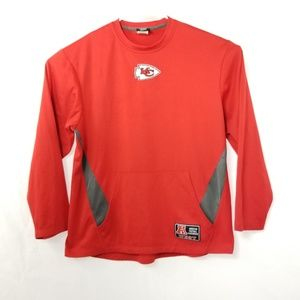 Kansas City Chiefs Mens Red Pullover Sweater M